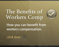 How you can benefit from workers compensation.