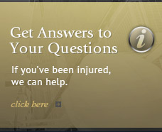 If you've been injured, we can help.